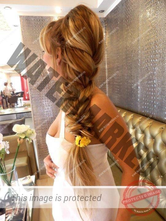 Прически для длинных слабых волос