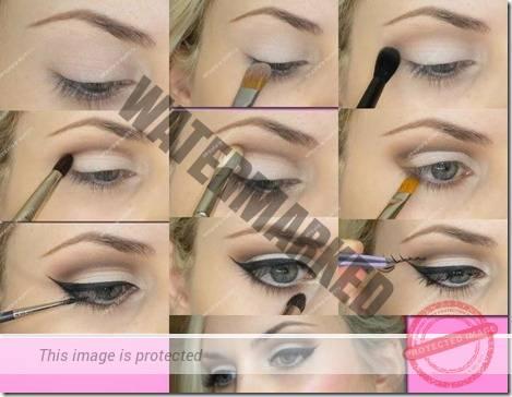 makeup sep by step 33