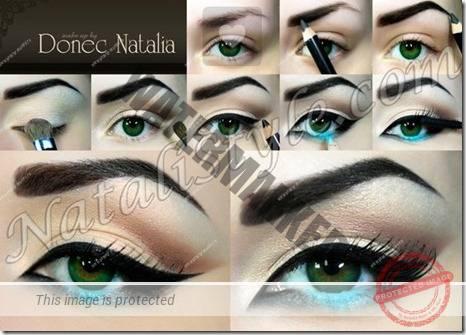 makeup sep by step 40