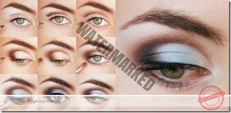makeup sep by step 42