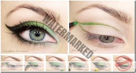 makeup sep by step 44