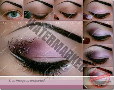 makeup sep by step 45