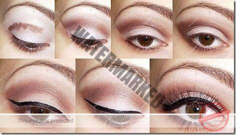 makeup sep by step 46