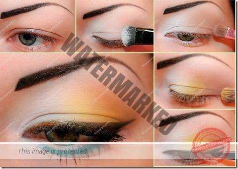 makeup sep by step 50