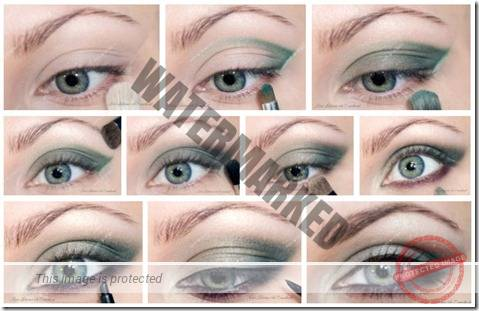 makeup sep by step 52
