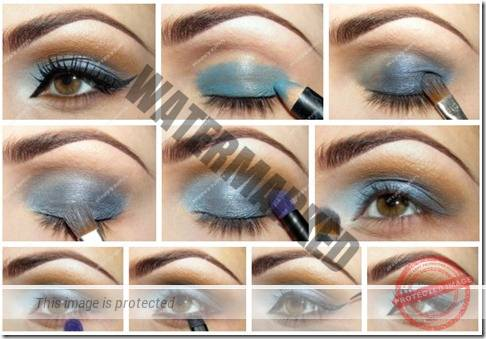 makeup sep by step 55
