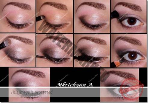 makeup sep by step 60