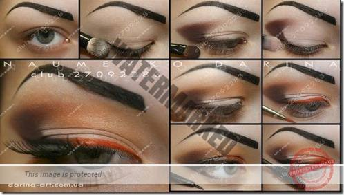 makeup sep by step 61