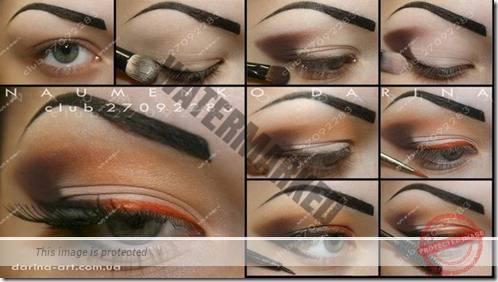 makeup sep by step 61