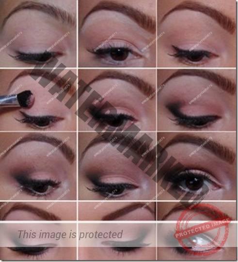 makeup sep by step 73