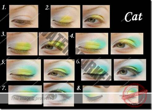 makeup sep by step 75