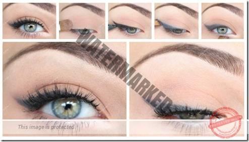 makeup sep by step 77