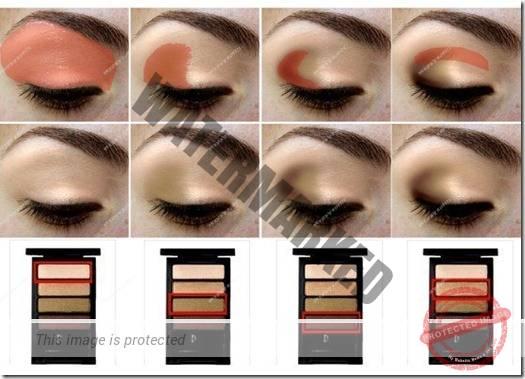 makeup sep by step 86