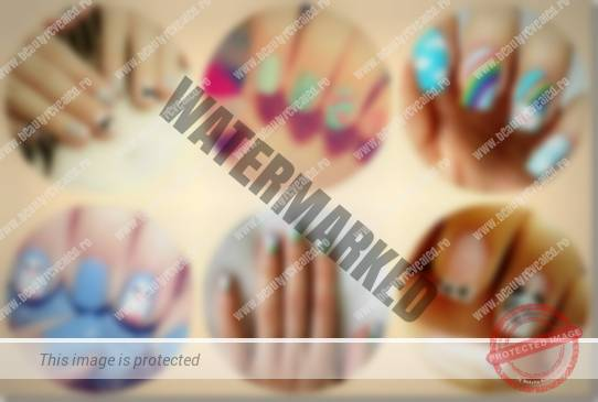 nails collage