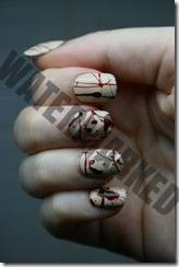 Halloween manicure 9