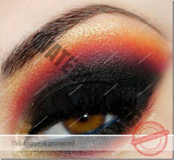 brown eyes makeup 144