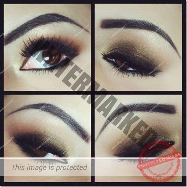 brown eyes makeup 151