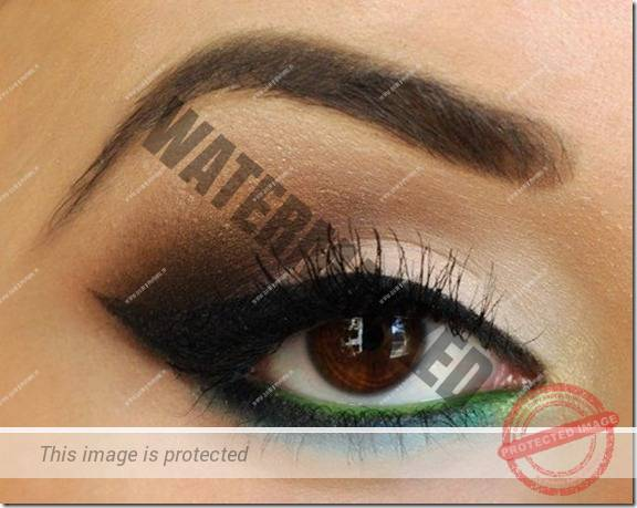 brown eyes makeup 275