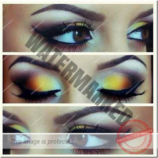 brown eyes makeup 296