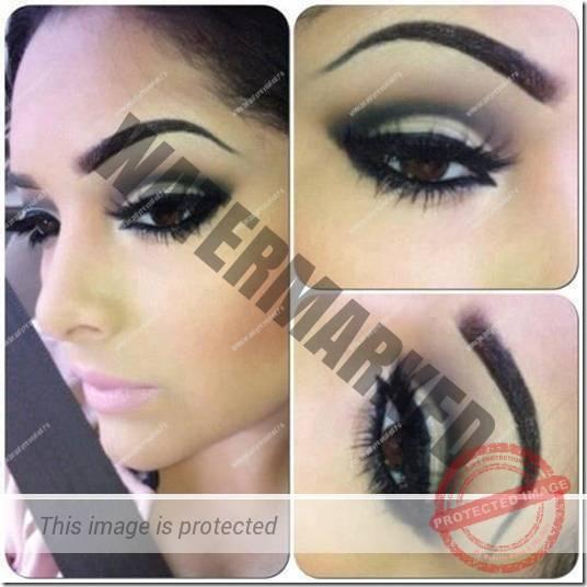 brown eyes makeup 299