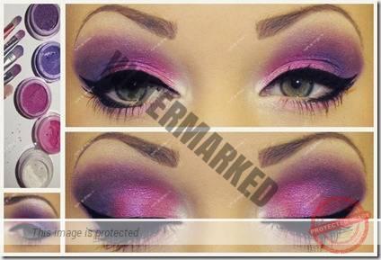green eyes makeup 60