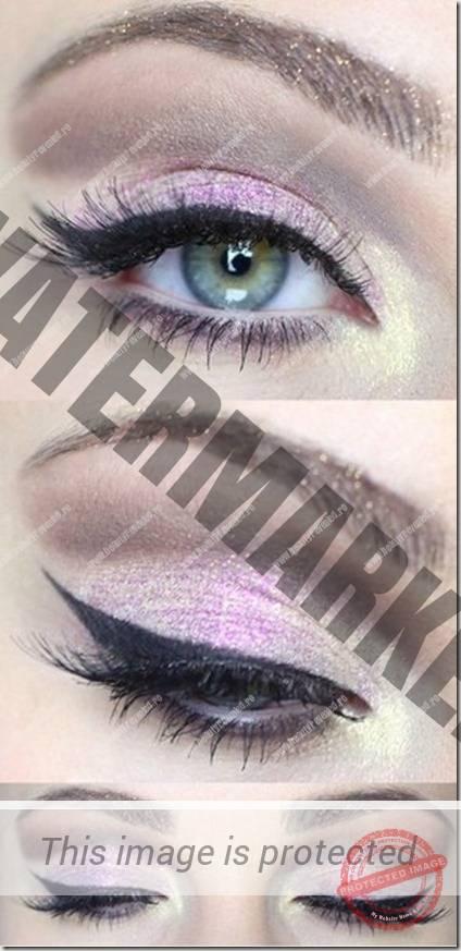 green eyes makeup 70