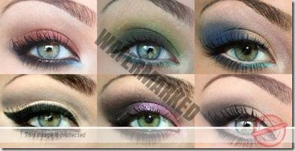 green eyes makeup 72