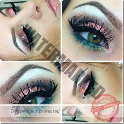 green eyes makeup 75