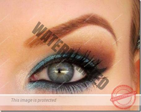blue eyes makeup 60