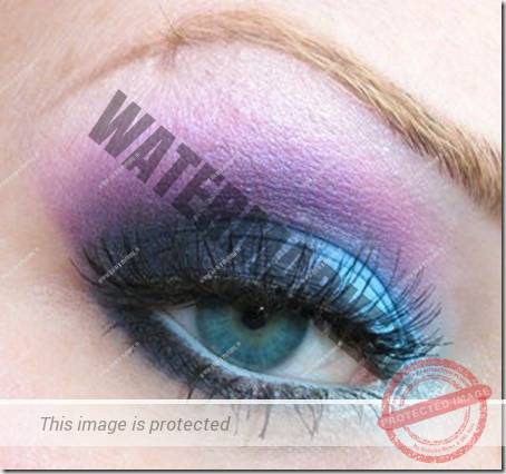 blue eyes makeup 68