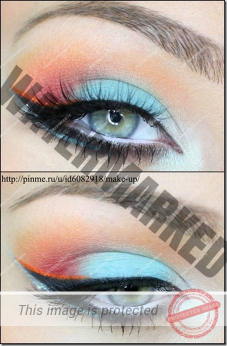 blue eyes makeup 874