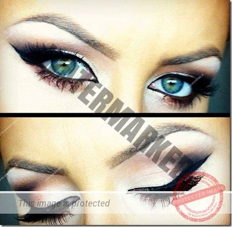 blue eyes makeup 878