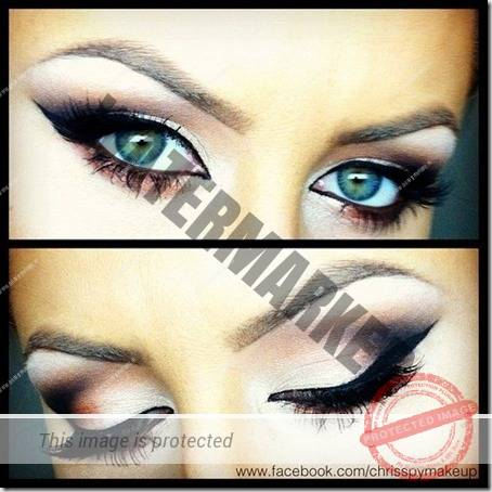 blue eyes makeup 887