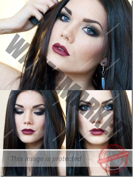 blue eyes makeup 891