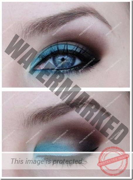 blue eyes makeup 902