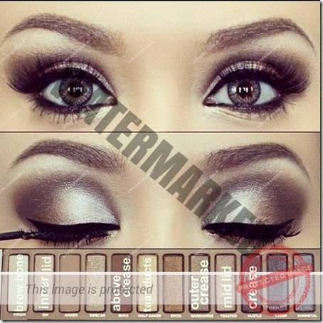 blue eyes makeup 909