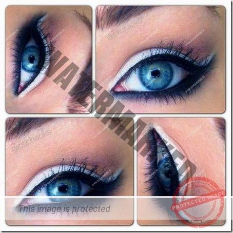 blue eyes makeup 915