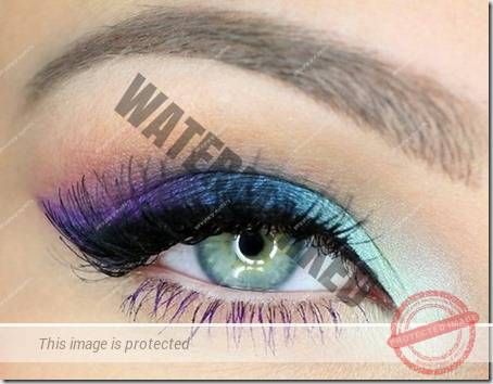 blue eyes makeup 916