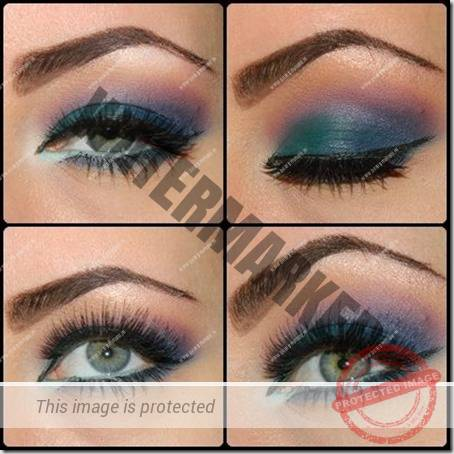 blue eyes makeup 923