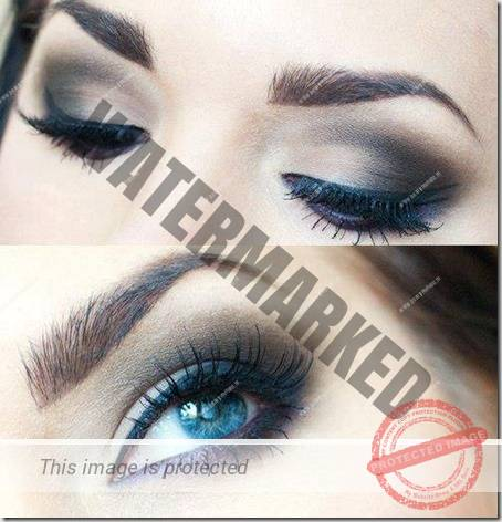 blue eyes makeup 930