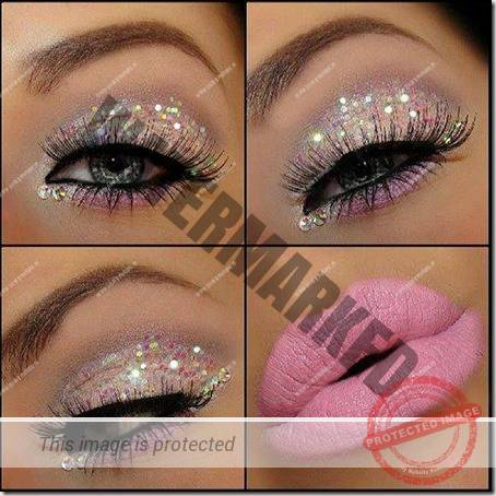 blue eyes makeup 931