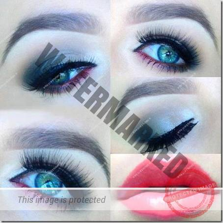 blue eyes makeup 932