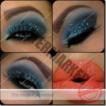 blue eyes makeup 933