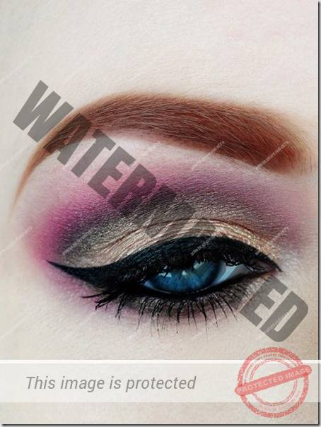 blue eyes makeup 935