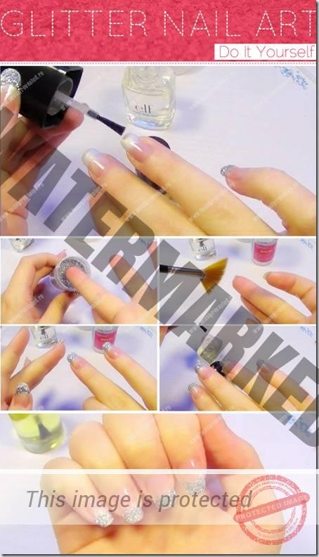 tutoriale manichiura french 5