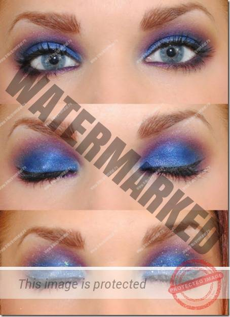 blue eyes makeup 10