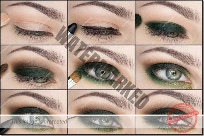 makeup sep by step 121