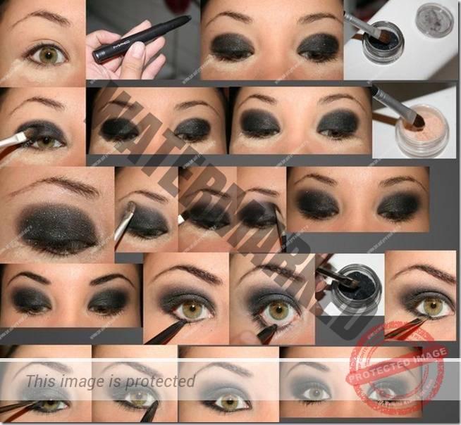 makeup sep by step 87