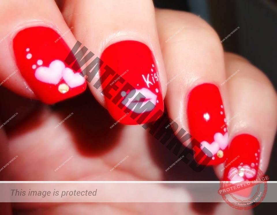 72 Modele Manichiura De Valentines Day Unghii Deosebite Pentru