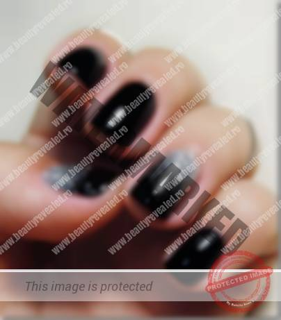 15 Modele De Unghii Negre Tutoriale Si Poze Beauty Revealedro